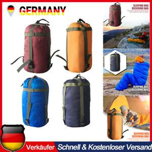 Camping Schlafsack Außen Kompressionssack Aufbewahrungstasche Hängematte Tasche