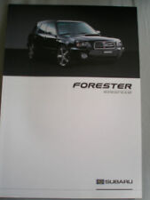 Subaru Forester Rinspeed brochure 2003 German text