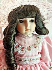 """Goebel Betty Jane Carter 1989 LE 345 / 1,000 Denise 17"""" Musical Porcelain Doll"""