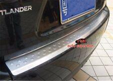 Rear Bumper Protector sill plate cover For Mitsubishi Outlander 2007-2012
