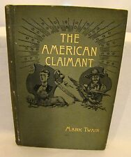 Mark Twain. The American Claimant. 1st ed 1892 Illus Dan Beard