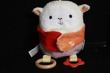 Pottery Barn Kids Skip Hop Activity Chime Lamb Toy w/ Baby