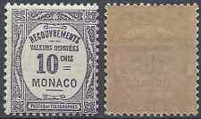 FRANCE MONACO TAXE N°14 - NEUF ** LUXE AVEC GOMME D'ORIGINE - COTE 1€