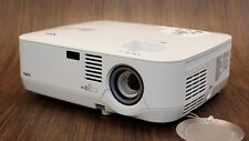 NEC NP300 XGA HD LCD 2200 LUMEN PORTABLE PROJECTOR - ONLY 392 HRS TOTAL USE!