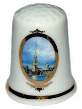 Dé à coudre de Collection Russe, Dé à coudre En porcelaine La forteresse russe