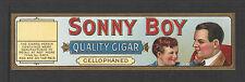 SONNY BOY QUALITY CIGARS CIGAR BOX LABEL Unused LABEL