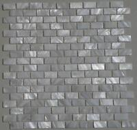 1PCS White brick shell mosaic mother of pearl kitchen bathroom shower wall tile