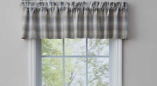 "Park Designs PRAIRIE WOOD Unlined Window Valance 72""x14"" Brown, Blue, Tan, Ivory"