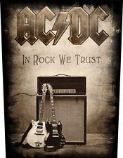 AC/DC - Rückenaufnäher Backpatch - In Rock We Trust