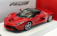 Burago 1/24 Scale Model Car 18-26001 - Ferrari LaFerrari - Red/Black