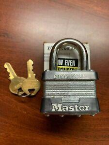 Master Lock No. 1KA Keyed Alike Padlock, Steel, Key# 1C373