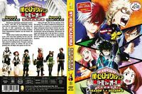 ANIME DVD My Hero Academia Season 1+2(1-38End)Eng sub&All region + FREE CD