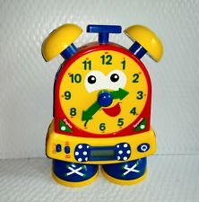 Learning Journey Telly the Teaching Time Talking Clock Bilingual Analog Digital