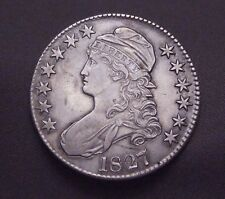 ✰ 1827 - P Capped Bust Silver Half Dollar | US Coin | High Quality ✰