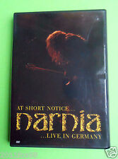dvd narnia live in germany at short notice owen 2003 inner sanctum war preludium