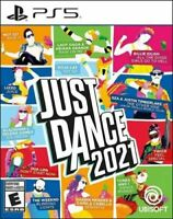 Just Dance 2021 PS5 PlayStation 5 Brand New Sealed