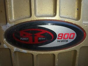 Rockford fosgate punch amplifier