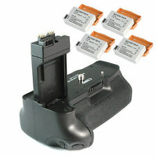 Battery Grip BG-E8 For Canon EOS 550D 600D +4*LP-E8 LPE8 Battery