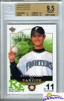 2005 BBM Rookie Edition #12 Yu Darvish REAL ROOKIE BGS 9.5+TWO BGS 10 PRISTINE!
