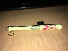 Vintage Boston Red Sox Louisville Slugger Mini Plastic Bat With Chain