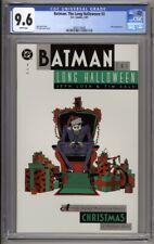 Batman The Long Halloween #3 CGC 9.6 Jeph Loeb Tim Sale (1997) Christmas