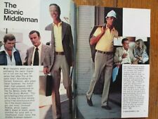 11/1976 TV Guide(RICHARD ANDERSON/LINDSAY WAGNER/BIONIC WOMAN/GONE WITH THE WIND