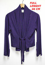 THE MASAI CLOTHING CO  WOMAN LADIES TOP SHIRT SIZE S LONG SLEEVE PURPLE COLOR