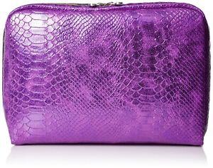LeSportsac Classic Extra Large Rectangular Nylon Cosmetic Case Purple