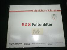 10 Stück FALTENFILTER Schleicher & Schüll Ø 500 mm Filter Nr 1573 1/2 eig