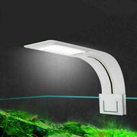 Clip on Aquarium LED Light, Fish Tank Clamp Lamp For  Small Nano Tanks Sale S7X5