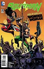 Aquaman #46 Side by side with Wonder Woman New 52 Dc comic 1st Print 2015 Nm