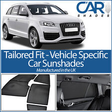 AUDI Q7 5DR 2006-2015 UV CAR SHADES WINDOW SUN BLINDS PRIVACY GLASS TINT BLACK
