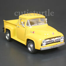 Kinsmart 1956 Ford F-100 PickUp Truck 1:38 Diecast Toy Car Yellow