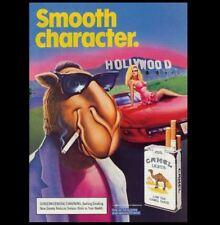 Camel Cigarettes Ad PHOTO Joe Camel Lights Bar Sign Vintage  Advertisement Pic