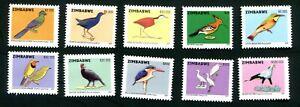 2007 ZIMBABWE - BIRDS - MNH
