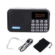 Portatile DAB DAB+ FM Radio Digitale Bluetooth 4.2 TF Lettore MP3 USB Antenna