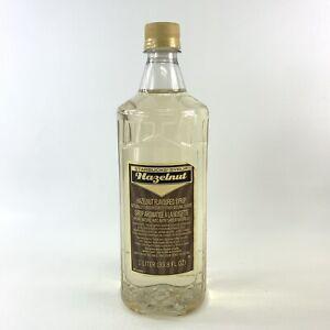 Starbucks Hazelnut Flavored Syrup 1 Liter 33.8 Oz. Bottle Best By Dec 2020