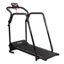 Laufband mit Motor und Handlauf Fitnessgerät Jogging Heimtrainer klappbar
