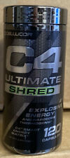 Cellucor C4 ULTIMATE SHRED Pre Workout Energy 120 caps FRESH EXP DATES 2022