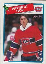 PATRICK ROY 1988-89 OPC O-Pee-Chee card #116 Montreal Canadiens NR MT