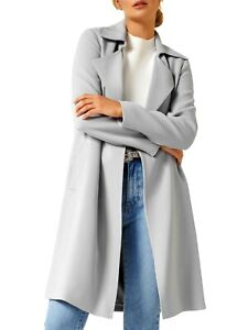 Forever New blue trench coat, sz. 12,  - all seasons