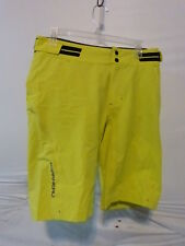 Louis Garneau Connector Cycling Shorts Men's XL Sulphur Spring Retail $99.99