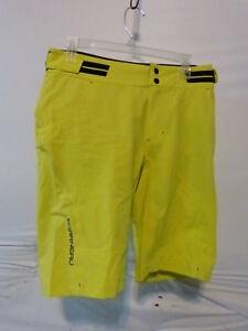 Louis Garneau Connector Cycling Shorts Men's Large Sulphur Spring Retail $99.99