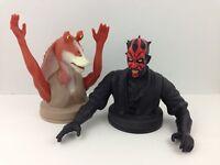 Star Wars Jar Jar Binks Darth Maul Cup Topper Episode 1 KFC Taco Bell Pizza Hut