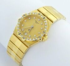 CHOPARD St. Moritz Damen Uhr 18k Gold Brillanten 750 Box