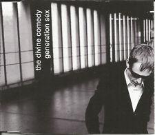 DIVINE COMEDY Generation Sex  w/ 2 UNRELEASED TRX CD Single SEALED USA Seller