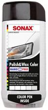 Sonax Polish Wax Carnauba 500ML WHITE Color Scratch Remover Restore Gloss Shine