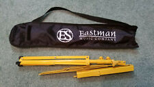 Eastman Folding Music Stand w/ Carrying Bag, Yellow