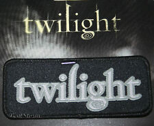 NEW TWILIGHT LOGO Authentic Patch Badge Edward Cullen Bella Swan 4 Jacket Jeans