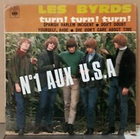 "Rare EP Les Byrds or.fr 1966  "" Turn ! Turn ! Turn ! ""  CBS EP 6251  ( TBE )"